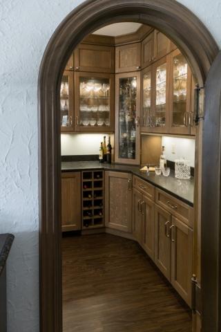 kitchen bar remodeling photo