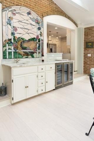 kitchenbeverage center remodeling photo
