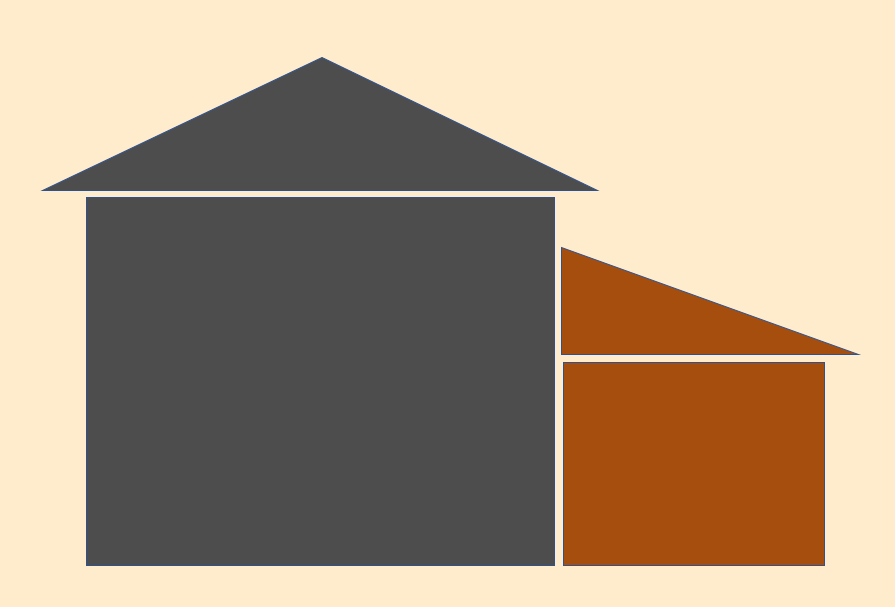 illustration of single story addition on home in Cleveland Oh