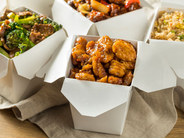 Chinese food takeout containers